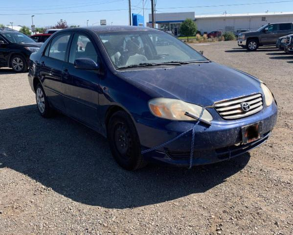 Vehiculos salvage en venta de Copart Helena, MT: 2003 Toyota Corolla CE
