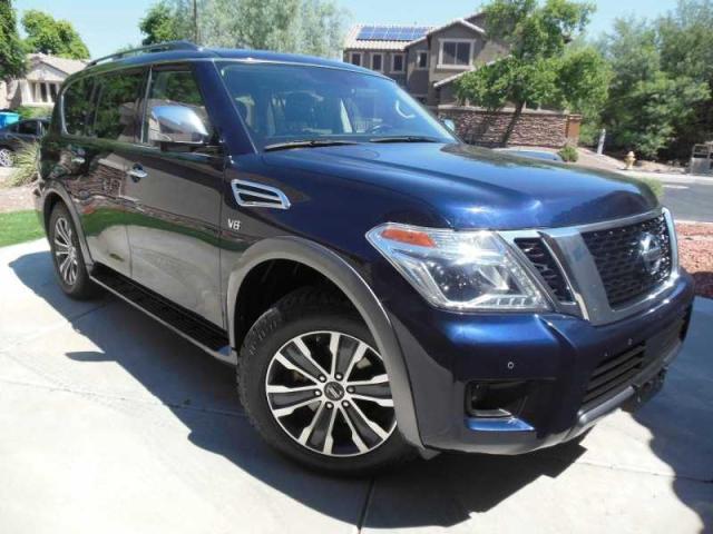 Salvage cars for sale from Copart Phoenix, AZ: 2020 Nissan Armada SL