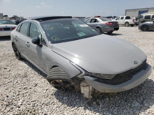 Salvage cars for sale from Copart Haslet, TX: 2021 KIA K5 GT Line