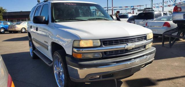 Chevrolet Tahoe C150 salvage cars for sale: 2002 Chevrolet Tahoe C150