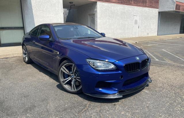 BMW M6 salvage cars for sale: 2013 BMW M6