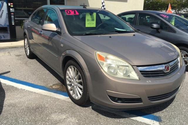 Salvage cars for sale from Copart Midway, FL: 2007 Saturn Aura XR