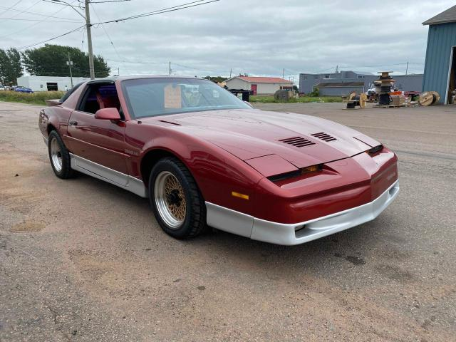 Salvage cars for sale at Moncton, NB auction: 1987 Pontiac Firebird T