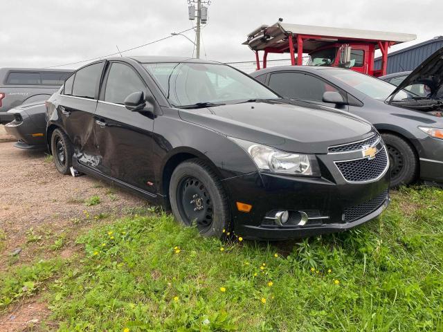Salvage cars for sale at Moncton, NB auction: 2013 Chevrolet Cruze LTZ