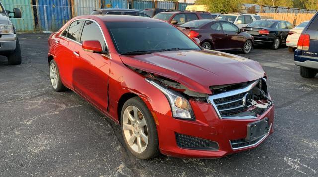 2014 Cadillac ATS Luxury en venta en Wheeling, IL