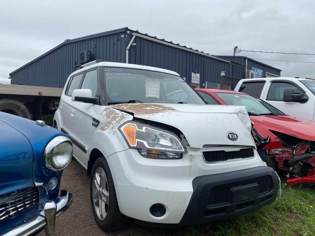 Salvage cars for sale at Moncton, NB auction: 2010 KIA Soul +