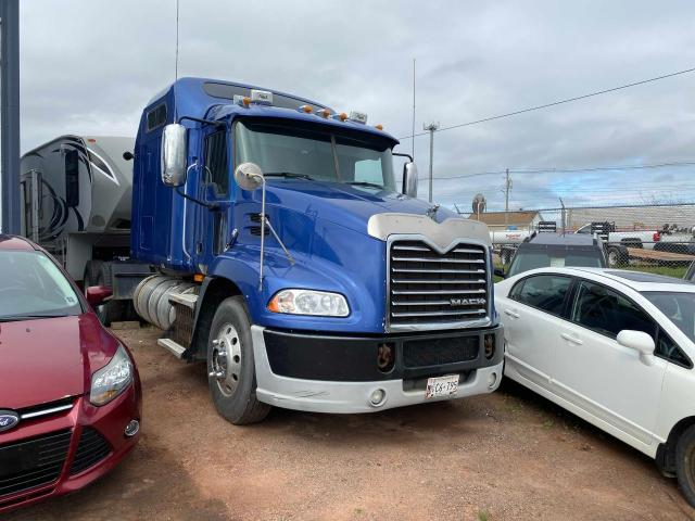 Salvage cars for sale from Copart Atlantic Canada Auction, NB: 2009 Mack 600 CXU600