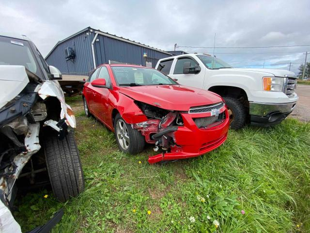 Salvage cars for sale at Moncton, NB auction: 2014 Chevrolet Cruze LT