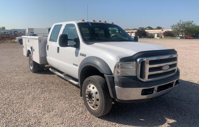 Salvage cars for sale from Copart Farr West, UT: 2006 Ford F450 Super