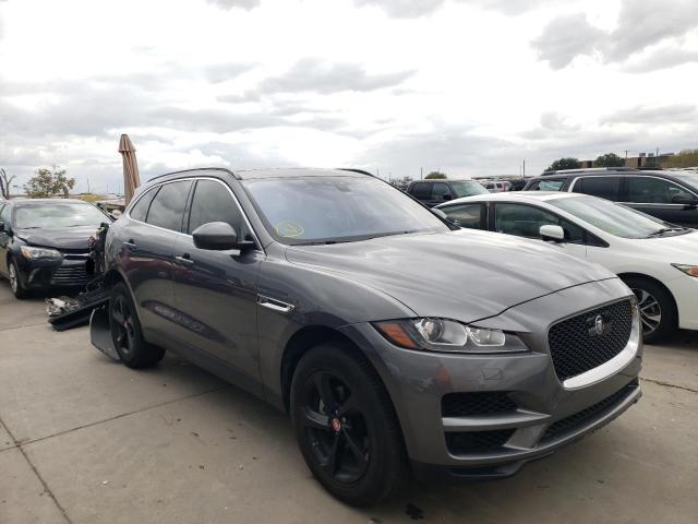 Jaguar salvage cars for sale: 2019 Jaguar F-PACE Premium