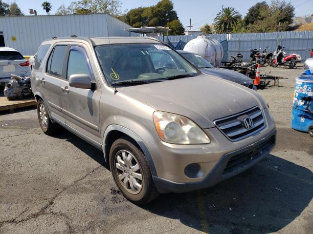 Salvage cars for sale from Copart Vallejo, CA: 2006 Honda CR-V SE