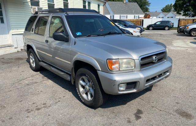 Salvage cars for sale from Copart Mendon, MA: 2004 Nissan Pathfinder