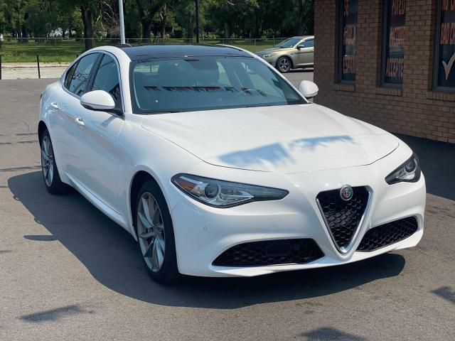2017 Alfa Romeo Giulia Q4 en venta en Chicago Heights, IL