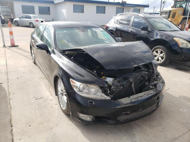 Salvage cars for sale from Copart Grand Prairie, TX: 2010 Lexus LS 460
