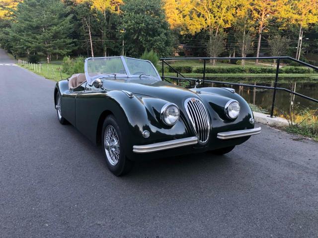 Jaguar XK salvage cars for sale: 1952 Jaguar XK