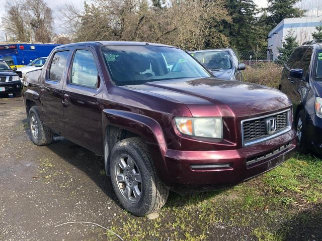 Salvage cars for sale from Copart Portland, OR: 2007 Honda Ridgeline