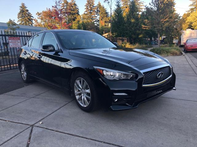 Salvage cars for sale from Copart Portland, OR: 2017 Infiniti Q50 Premium
