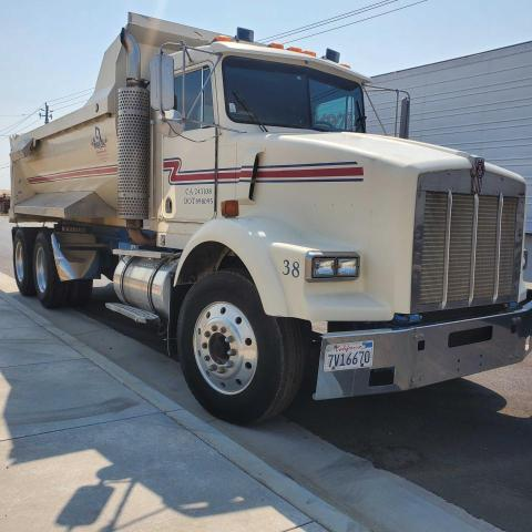Kenworth salvage cars for sale: 1990 Kenworth Construction