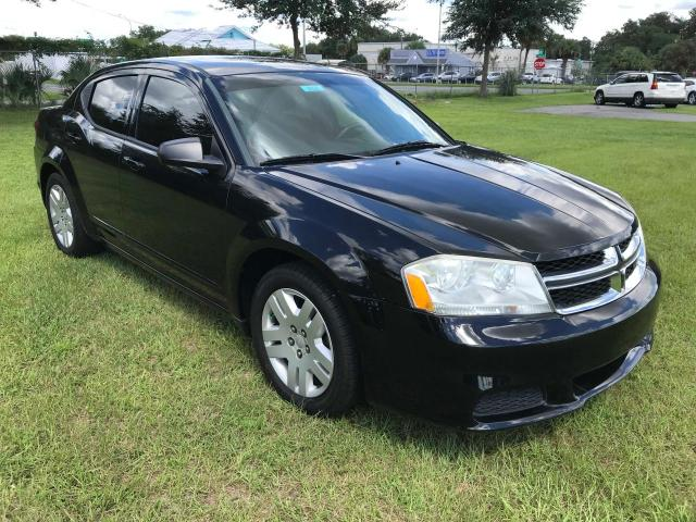 Salvage cars for sale from Copart Ocala, FL: 2012 Dodge Avenger SE