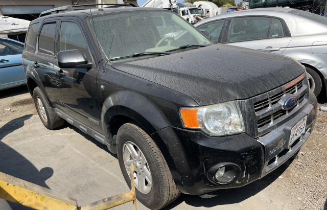 Salvage cars for sale from Copart San Martin, CA: 2008 Ford Escape HEV