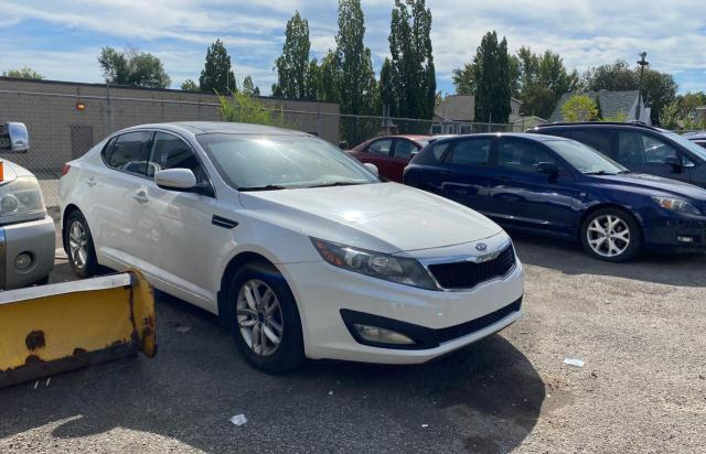 Salvage cars for sale at Montreal Est, QC auction: 2011 KIA Optima LX