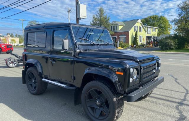 Salvage cars for sale at Moncton, NB auction: 1997 Land Rover Defender 9