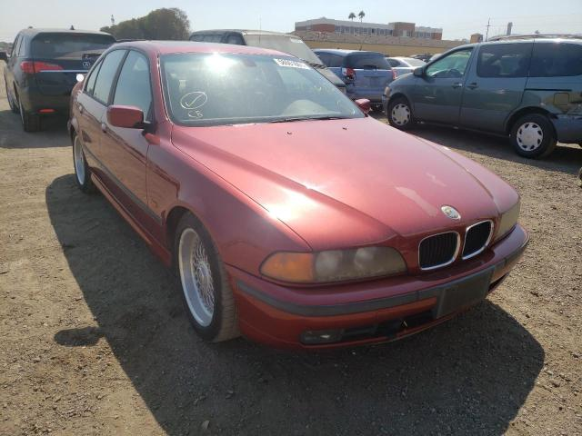 Salvage cars for sale from Copart San Martin, CA: 2000 BMW 528 I Automatic