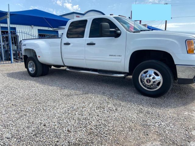 Salvage trucks for sale at Anthony, TX auction: 2013 GMC Sierra K35