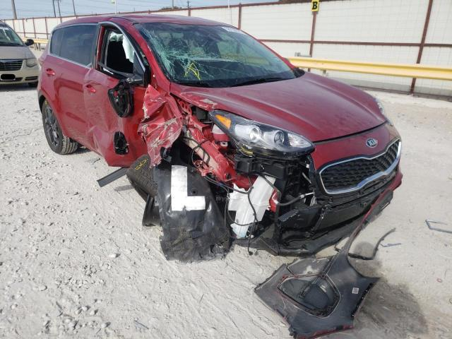 Salvage cars for sale from Copart Haslet, TX: 2022 KIA Sportage L