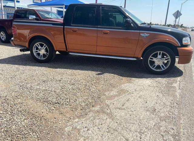 Salvage trucks for sale at Anthony, TX auction: 2003 Ford F150 Super