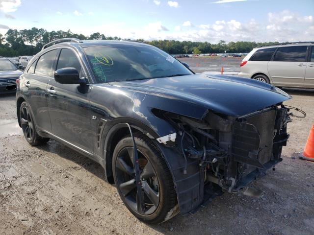Infiniti QX70 salvage cars for sale: 2015 Infiniti QX70