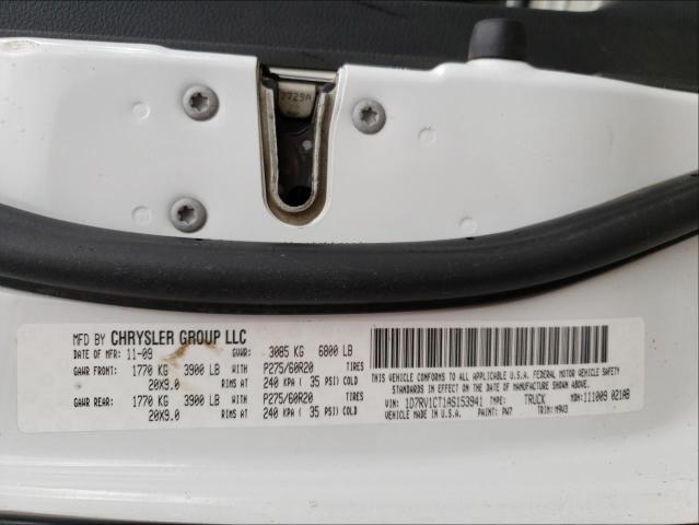 2010 DODGE RAM 1500 1D7RV1CT1AS153941