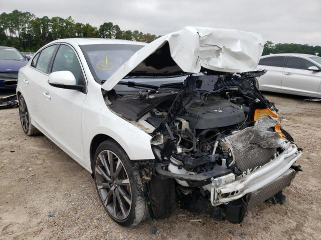 Salvage cars for sale from Copart Houston, TX: 2015 Volvo S60 Platinum