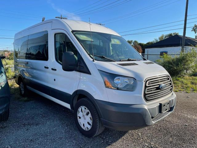 Salvage cars for sale from Copart Columbia Station, OH: 2017 Ford Transit T