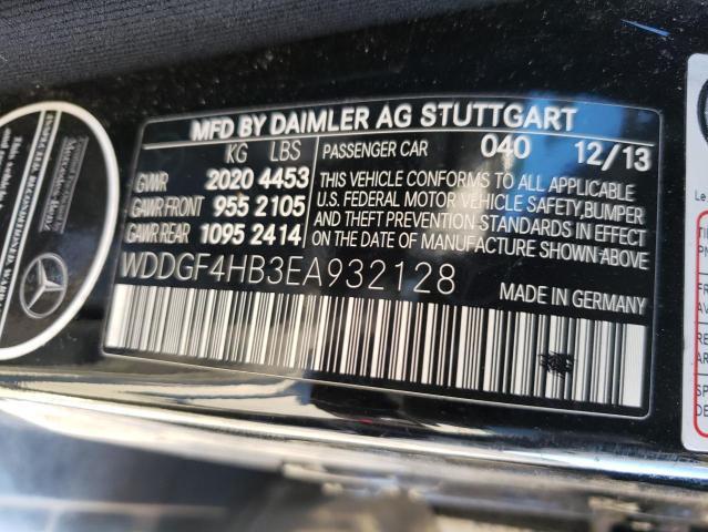2014 MERCEDES-BENZ C 250 WDDGF4HB3EA932128