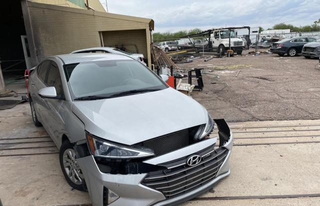 Salvage cars for sale from Copart Phoenix, AZ: 2019 Hyundai Elantra SE