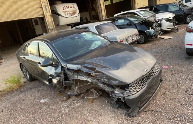Salvage cars for sale from Copart Phoenix, AZ: 2021 KIA K5 LXS