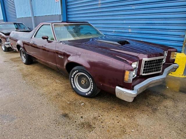 Ford Ranchero salvage cars for sale: 1977 Ford Ranchero