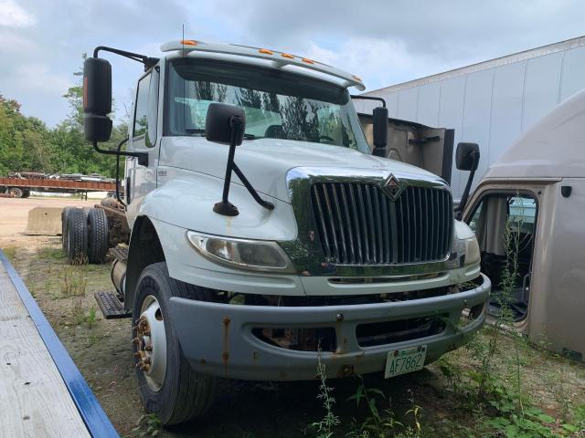 Salvage trucks for sale at Billerica, MA auction: 2010 International 4000 4400