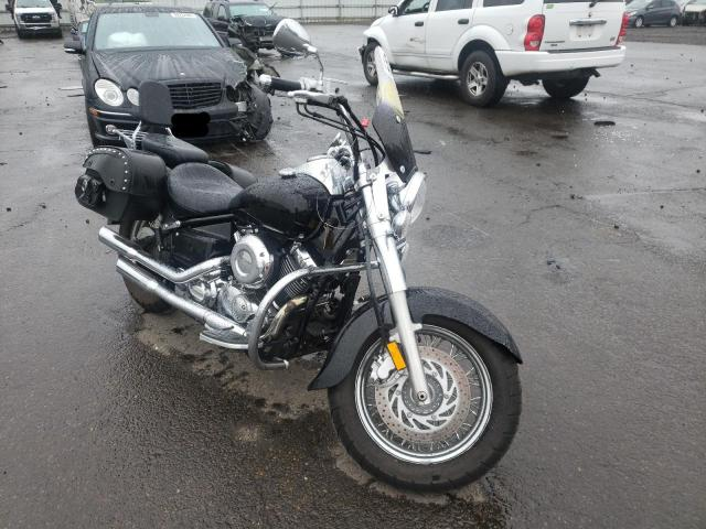 Salvage motorcycles for sale at Woodburn, OR auction: 2008 Yamaha XVS650 A