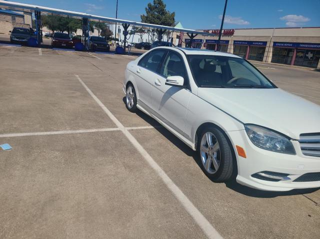 Vehiculos salvage en venta de Copart Wilmer, TX: 2011 Mercedes-Benz C300