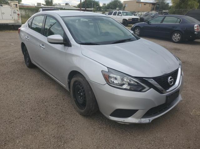 Salvage cars for sale at Tucson, AZ auction: 2019 Nissan Sentra S