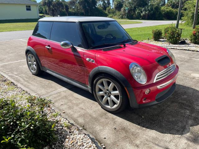 Salvage cars for sale from Copart Punta Gorda, FL: 2005 Mini Cooper S