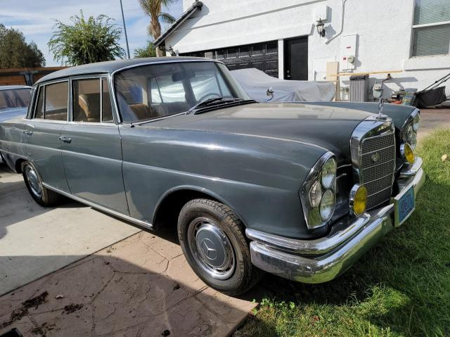 Salvage cars for sale at Martinez, CA auction: 1960 Mercedes-Benz 220S