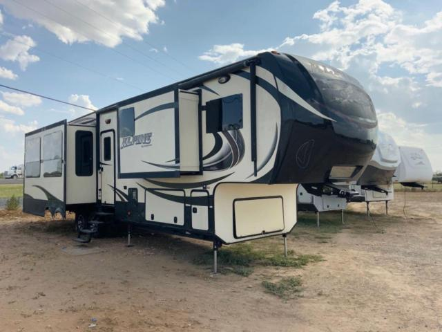 Salvage cars for sale from Copart Wilmer, TX: 2015 Keystone Travel Trailer