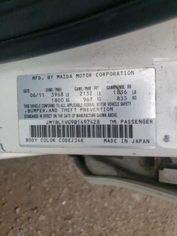 2011 MAZDA 3 I JM1BL1VG9B1497428