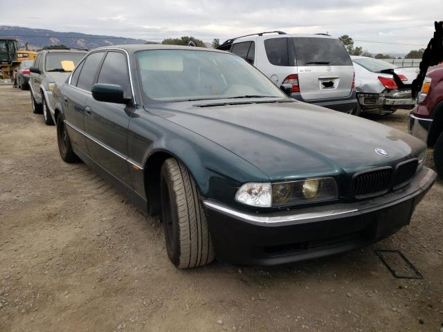 Salvage cars for sale from Copart San Martin, CA: 1995 BMW 740 I Automatic