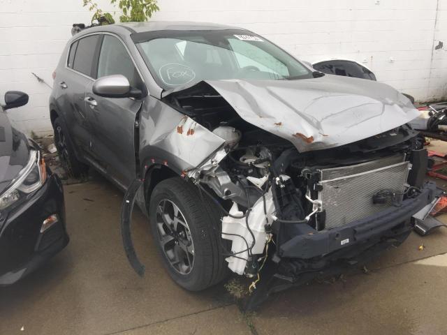 KIA salvage cars for sale: 2021 KIA Sportage L
