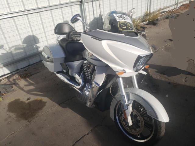 Salvage motorcycles for sale at Littleton, CO auction: 2011 Victory Cross Country