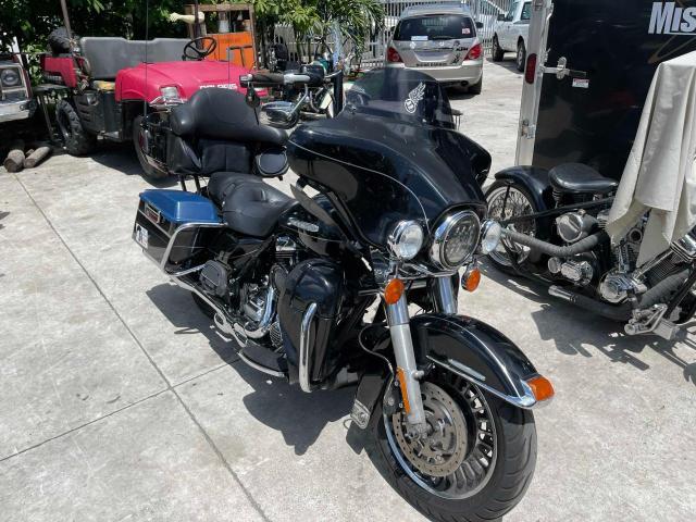 Harley-Davidson Flhtk Elec salvage cars for sale: 2012 Harley-Davidson Flhtk Elec